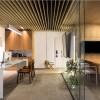 Ambiente: Escritório | Arquiteta Gabriela Casagrande | MDFs Chenin Blanc e Argel