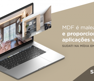 MDF é maleável e proporciona aplicações variadas