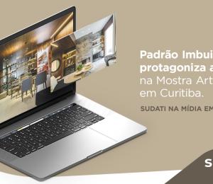 Padrão Imbuia protagoniza ambiente na Mostra Artefacto Curitiba