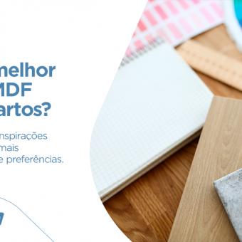 Qual a melhor cor de MDF para quartos?
